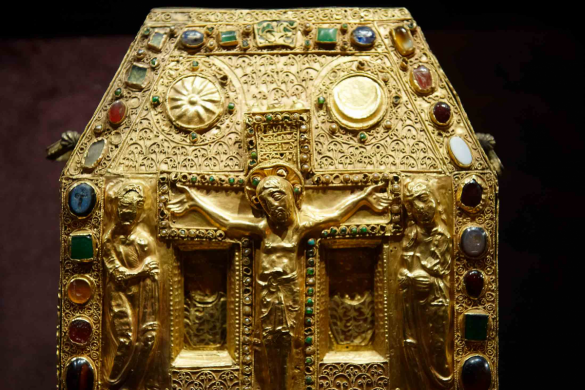 Shrine known as from Pepin - Treasure of Conques