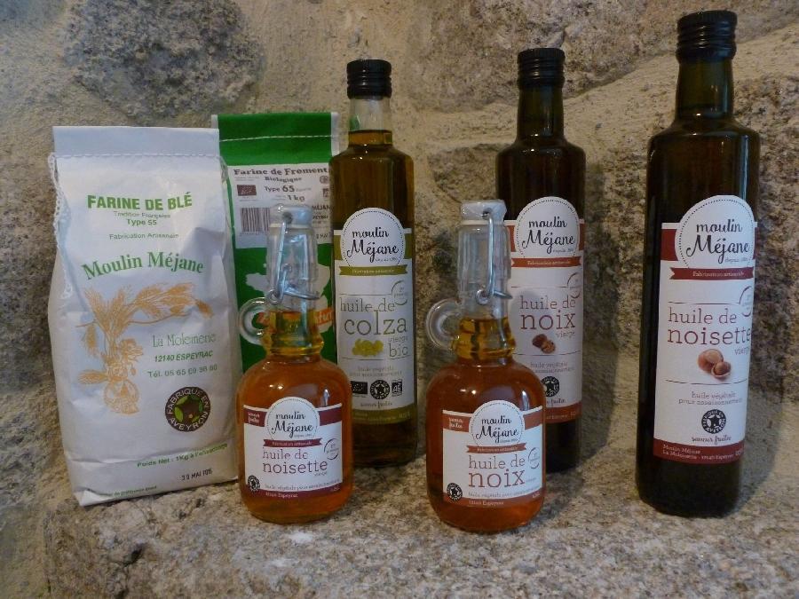 huile de noix mejane